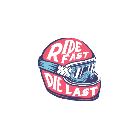 Tricou Ride fast Die last