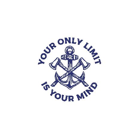 Tricou Axes and Anchor