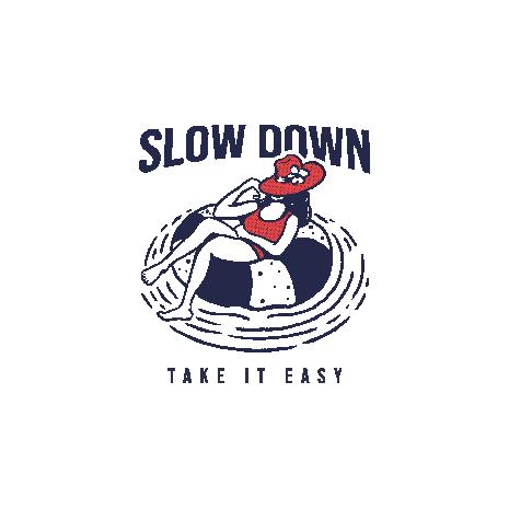 Tricou Slow down