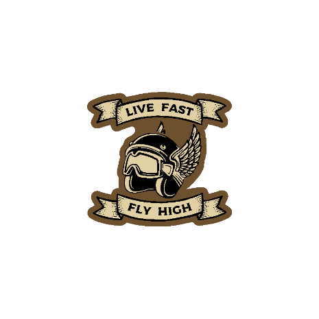 Tricou Live Fast - Fly High