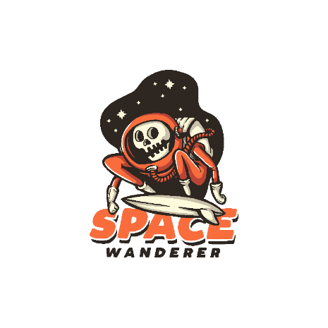 Tricou Space Wanderer