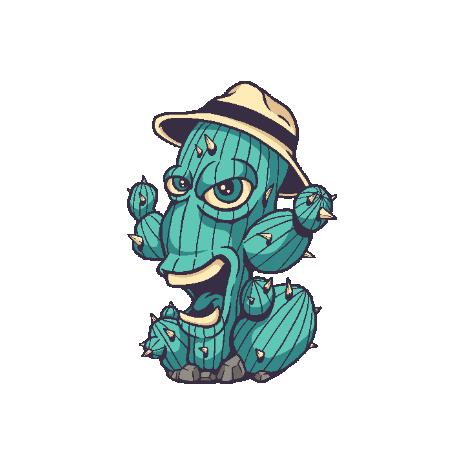 Tricou Cactus Monster