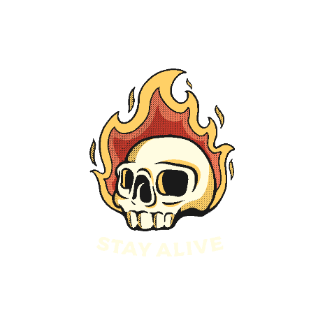 Tricou Stay Alive