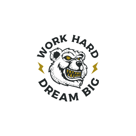 Tricou Work Hard - Dream Big