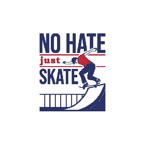 Tricou No Hate Just Skate
