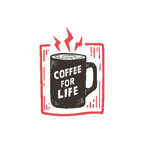 Tricou Coffe for life
