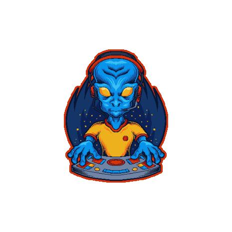 Tricou Gamer Alien