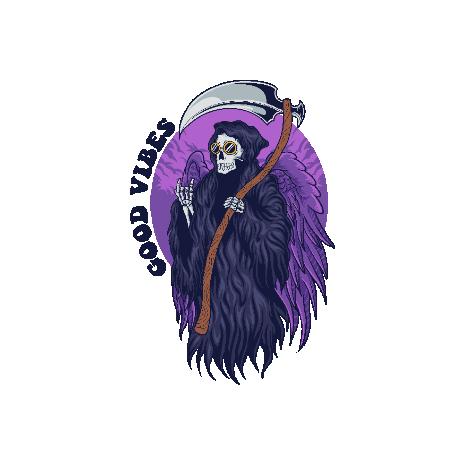 Tricou Grim Reaper - Good Vibes