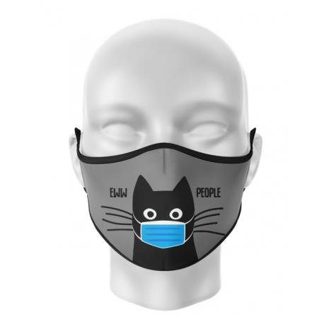 Masca de gura personalizata Ew people