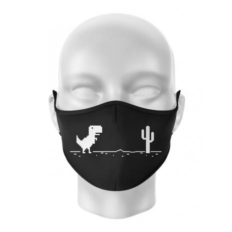 Masca de gura personalizata Internet is broken