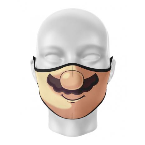 Masca de gura personalizata Mario Moustache