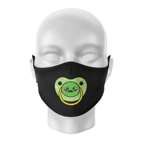 Masca de gura personalizata Moustache pacifier
