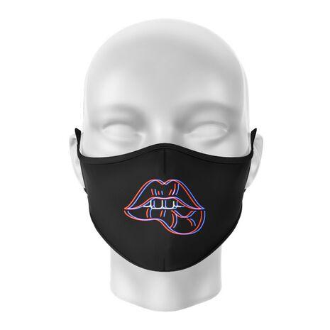 Masca de gura personalizata Neon lips
