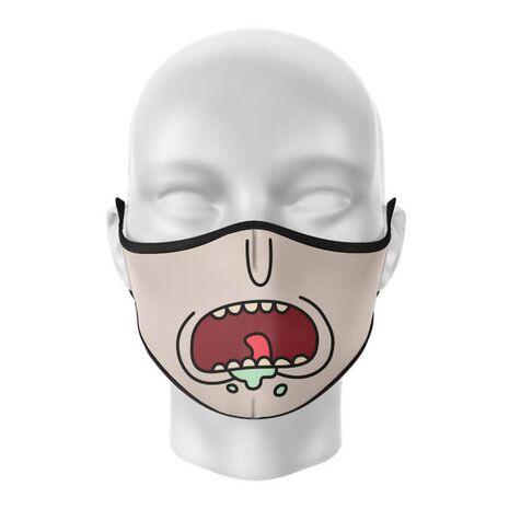 Masca de gura personalizata Rick's anger
