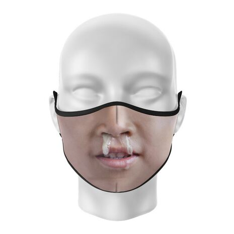 Masca de gura personalizata Snot