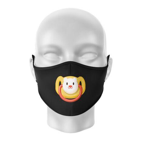 Masca de gura personalizata Teddy bear pacifier
