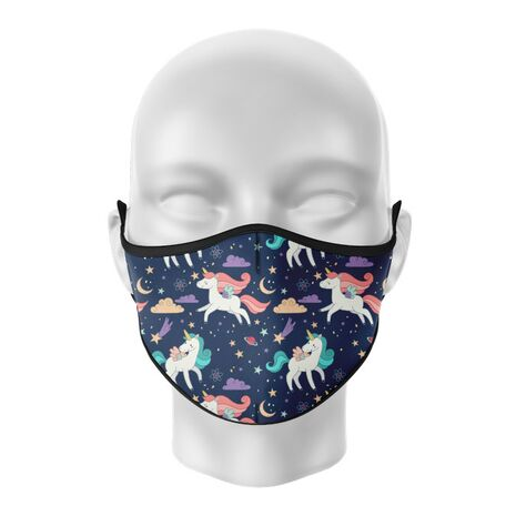 Masca de gura personalizata Unicorns