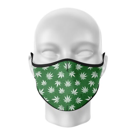Masca de gura personalizata Weed love
