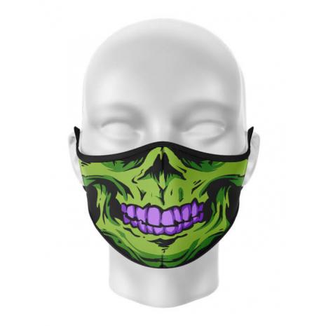 Masca reutilizabila personalizata Skull