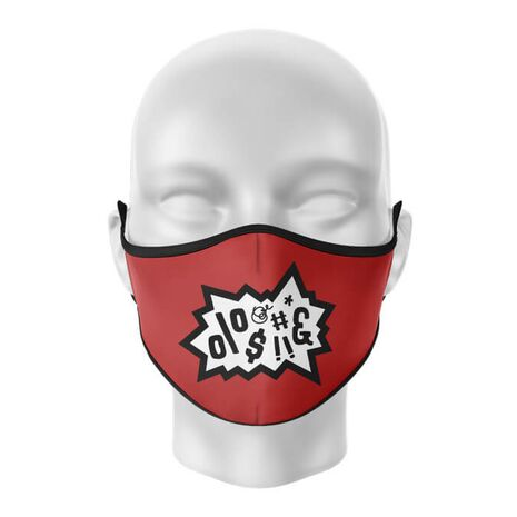 Masca reutilizabila personalizata Anger