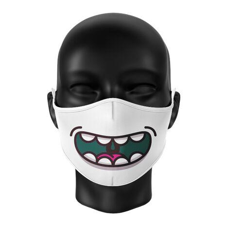 Masca de gura personalizata Happy monster