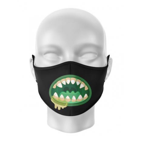 Masca de gura personalizata Monster inside