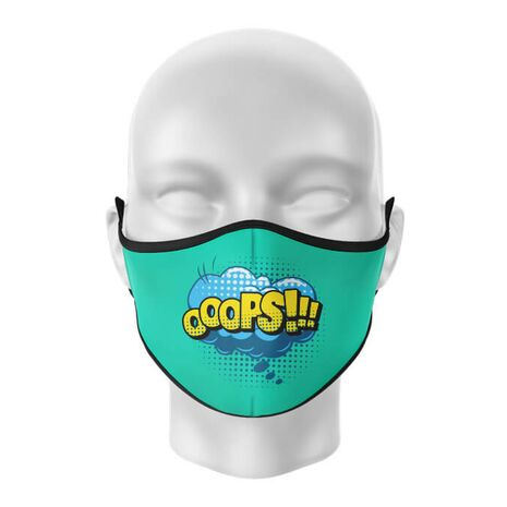 Masca de gura personalizata Ooops