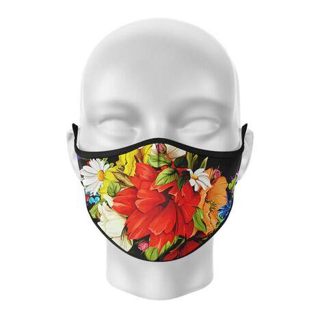 Masca de gura personalizata Red Flower