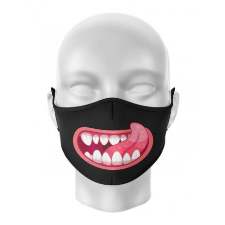 Masca de gura personalizata Tasty