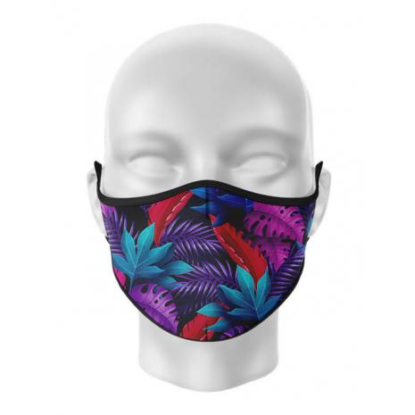 Masca de gura personalizata Tropical