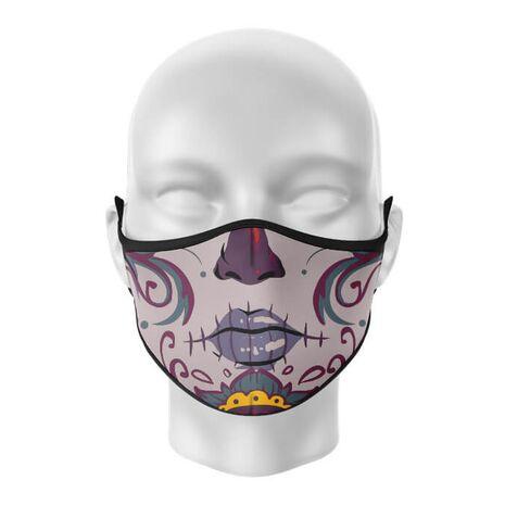 Masca de gura personalizata Santa muerte