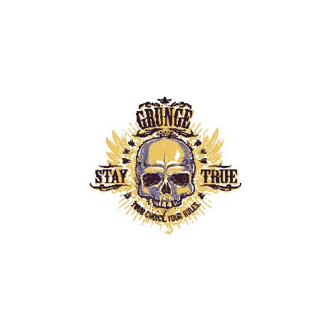 Tricou Grunge skull