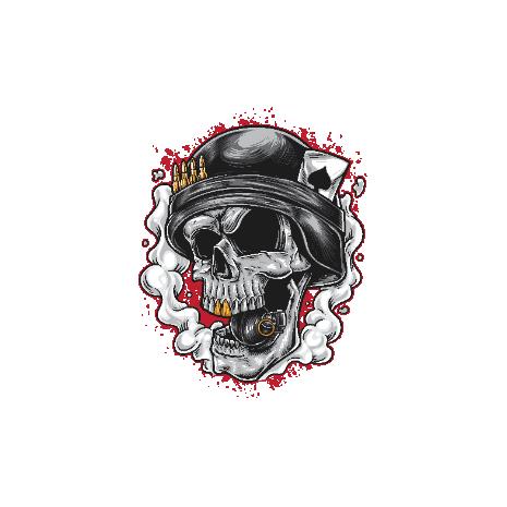 Tricou War Skull