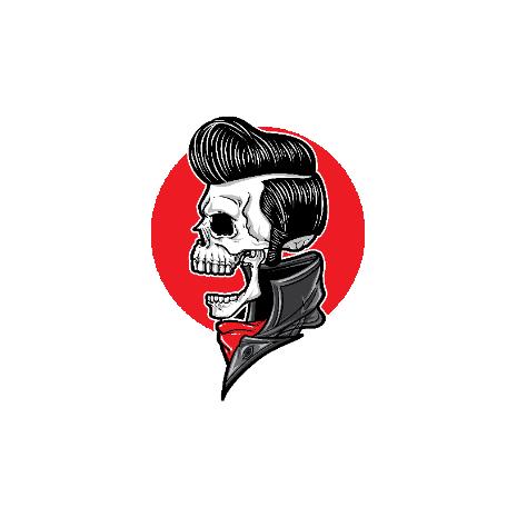 Tricou Elvis Skull