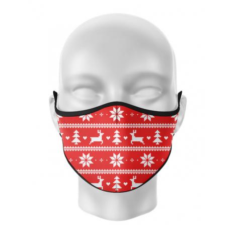 Masca reutilizabila personalizata Ugly pattern