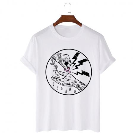 Tricou personalizat alb unisex Beggar of Love