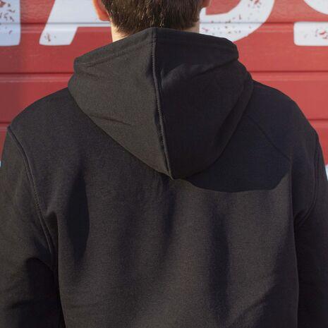 Hanorac personalizat negru unisex Stranger Ricks