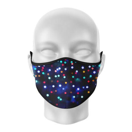 Masca reutilizabila personalizata Bokeh