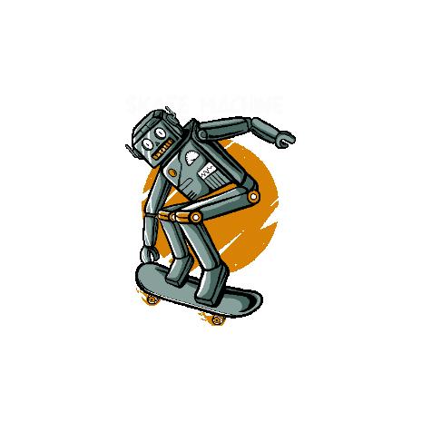 Tricou Skate Machine