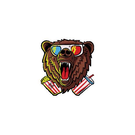 Tricou 3D Cinema Bear