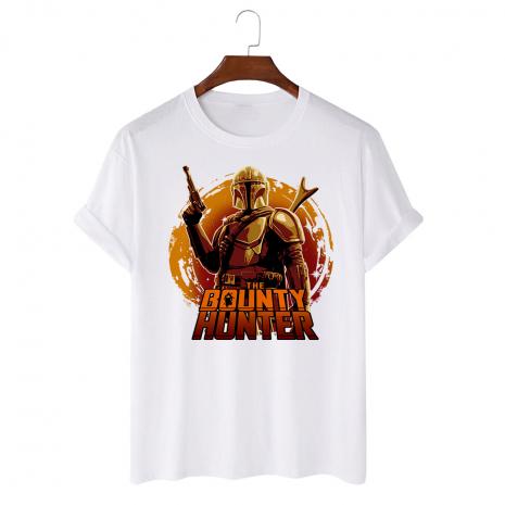 Tricou personalizat alb unisex Hunter way 2