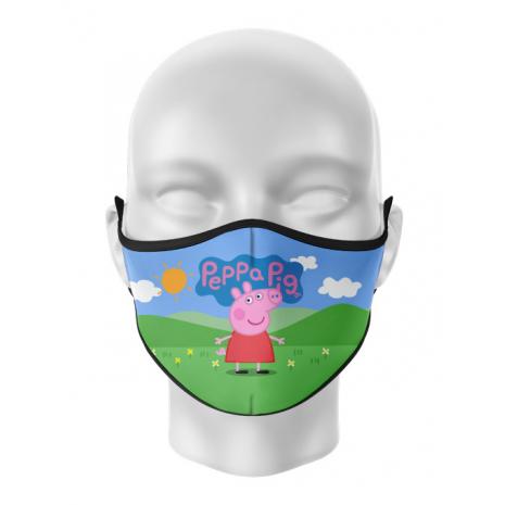 Masca reutilizabila personalizata Peppa