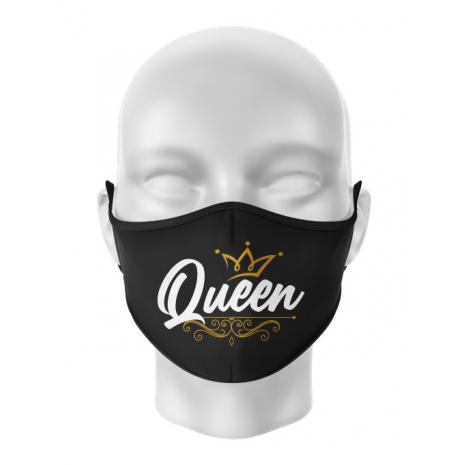 Masca reutilizabila personalizata Queen