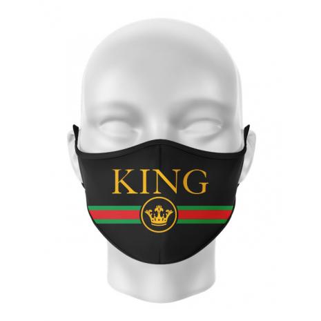 Masca reutilizabila personalizata Royal King