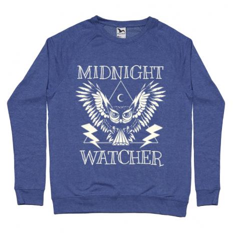 Bluza ADLER barbat Midnight Watcher Albastru melanj
