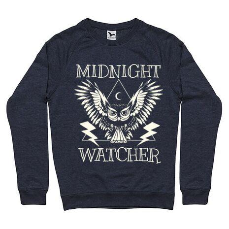 Bluza ADLER barbat Midnight Watcher Denim inchis