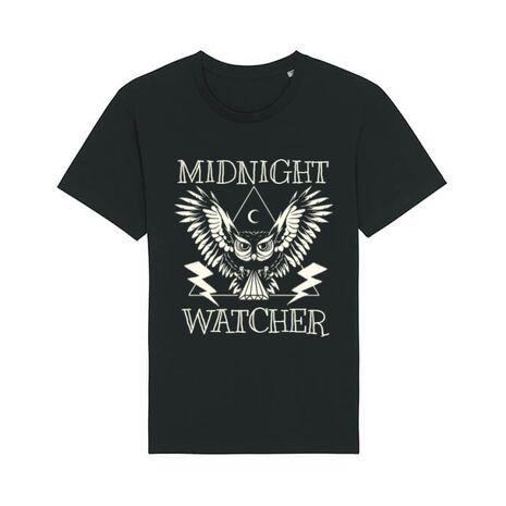 Tricou STANLEY STELLA barbat Midnight Watcher Negru