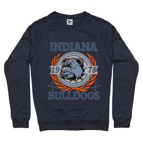 Bluza ADLER barbat Indiana Bulldogs Denim inchis