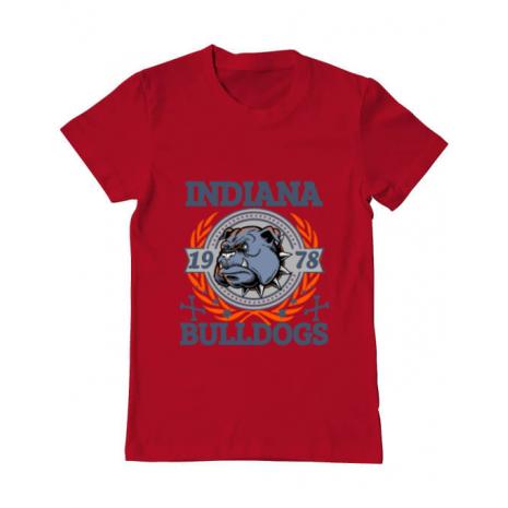 Tricou ADLER barbat Indiana Bulldogs Rosu