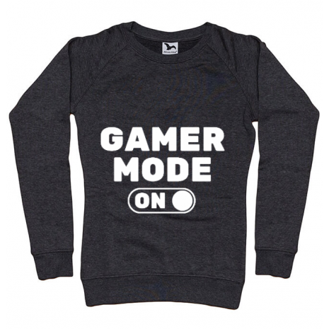 Bluza ADLER dama Gamer mode on Negru melanj